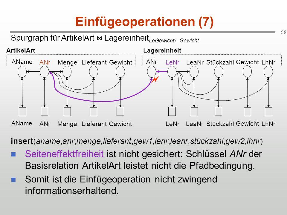 Einfügeoperationen (7)