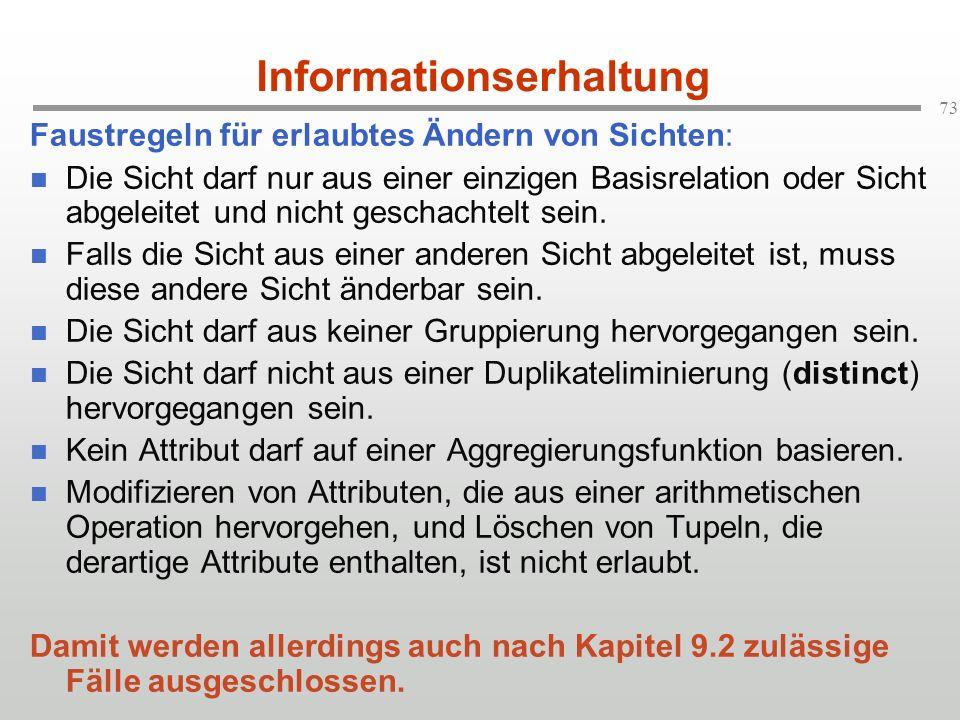 Informationserhaltung