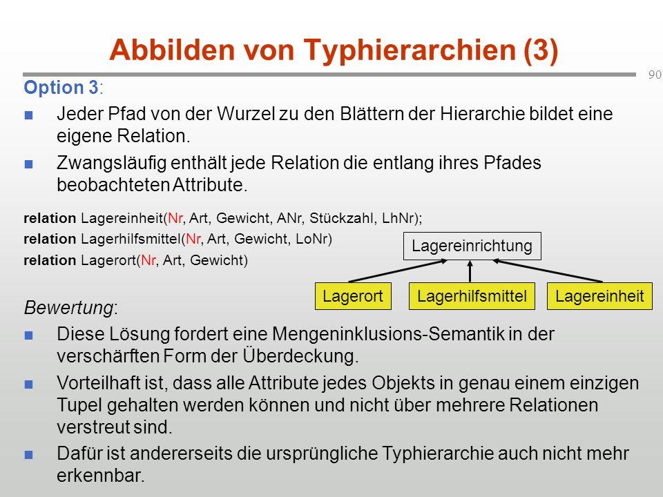 Abbilden von Typhierarchien (3)