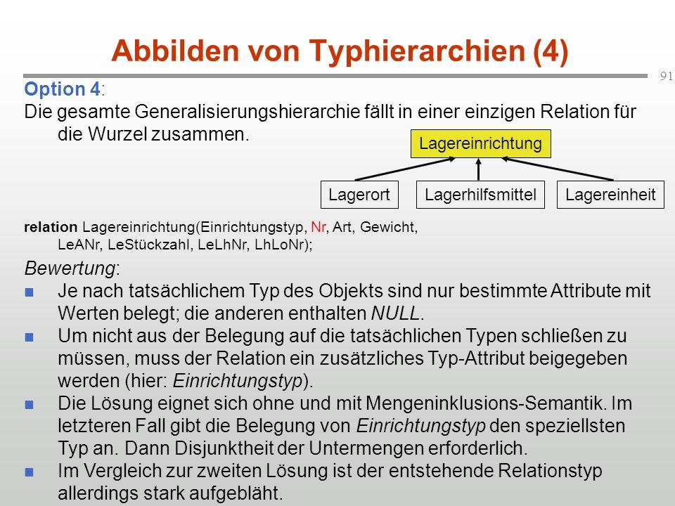 Abbilden von Typhierarchien (4)