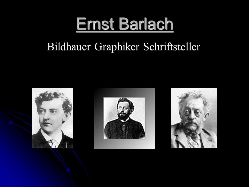 Bildhauer Graphiker Schriftsteller