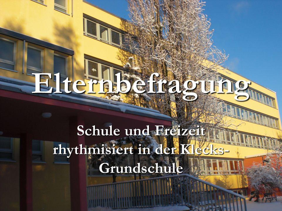 Schule und Freizeit rhythmisiert in der Klecks-Grundschule