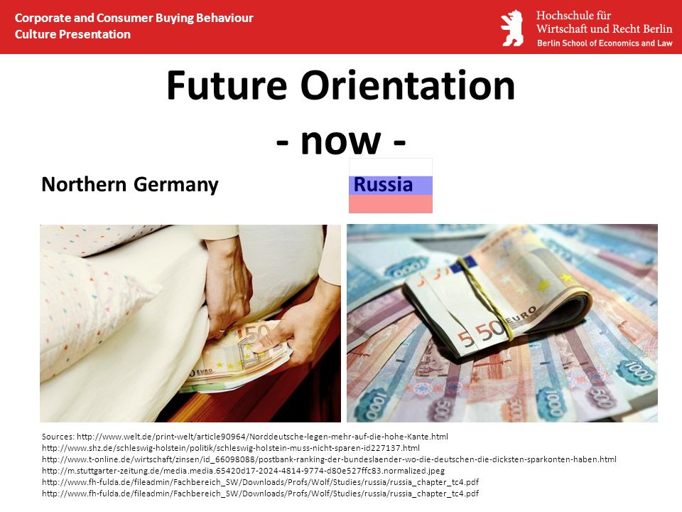 Future Orientation - now -