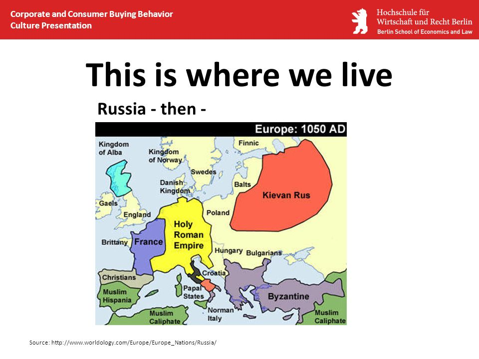 This is where we live Russia - then -