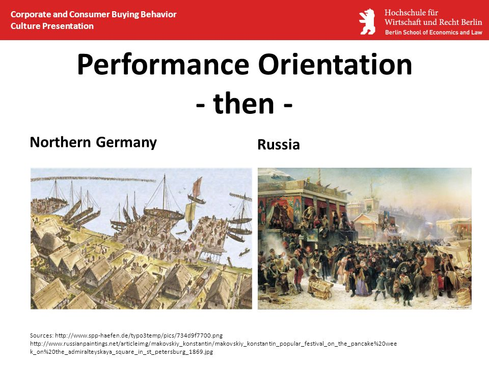 Performance Orientation - then -