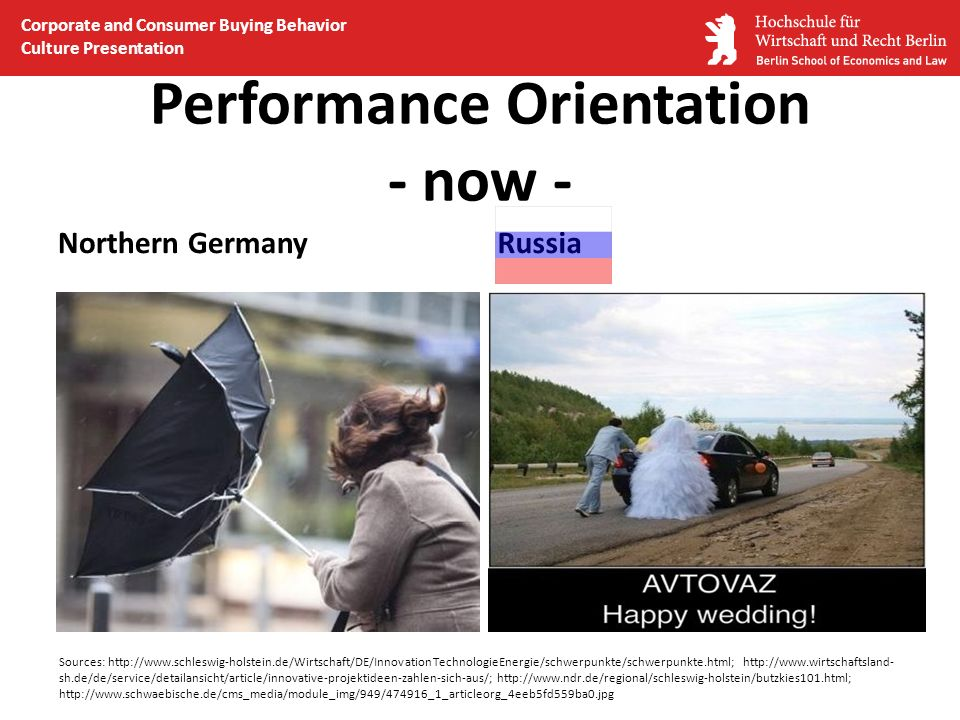 Performance Orientation - now -