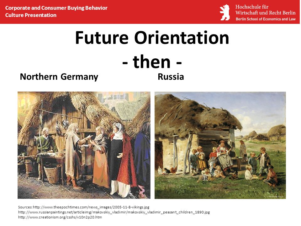 Future Orientation - then -