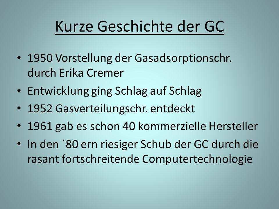 Kurze Geschichte der GC