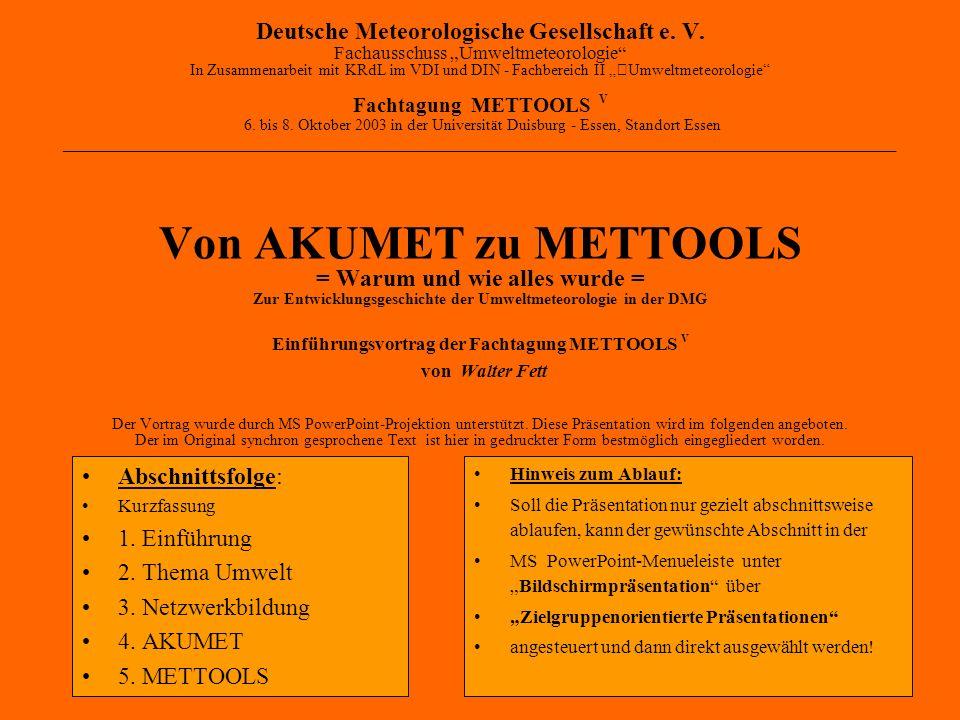 Deutsche Meteorologische Gesellschaft e. V