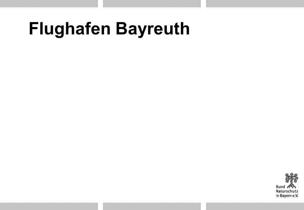 Flughafen Bayreuth Folie 17g: Ergänzungsfolie: Flughafen Bayreuth