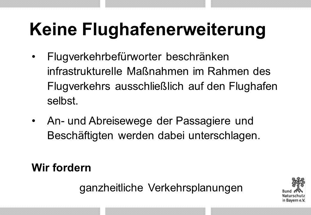 Keine Flughafenerweiterung