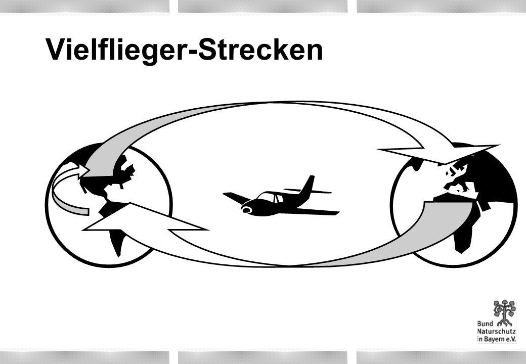Vielflieger-Strecken