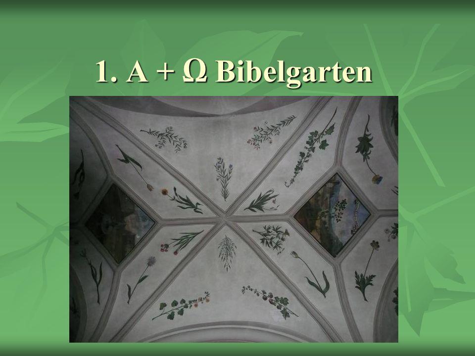 1. A + Ω Bibelgarten