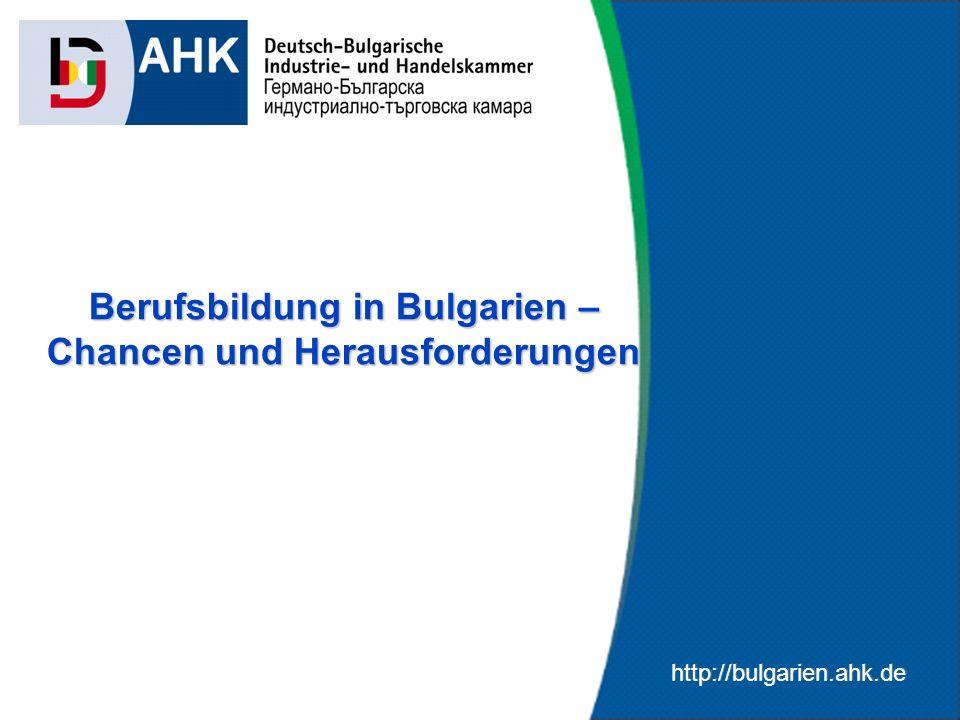 Berufsbildung in Bulgarien – Chancen und Herausforderungen