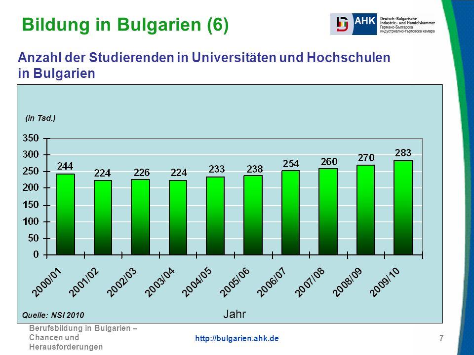 Bildung in Bulgarien (6)