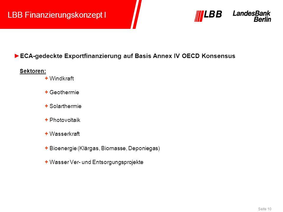LBB Finanzierungskonzept I