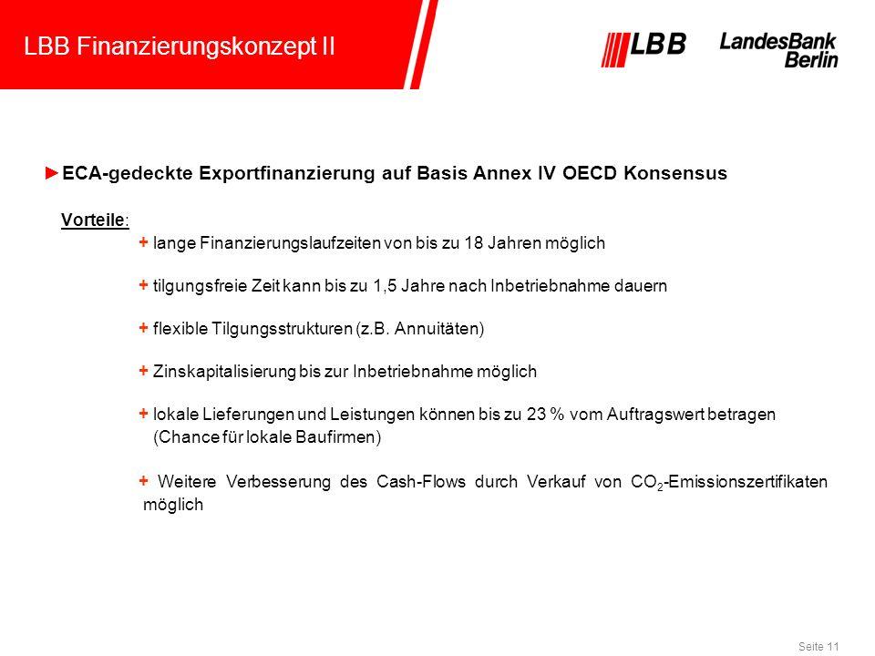 LBB Finanzierungskonzept II