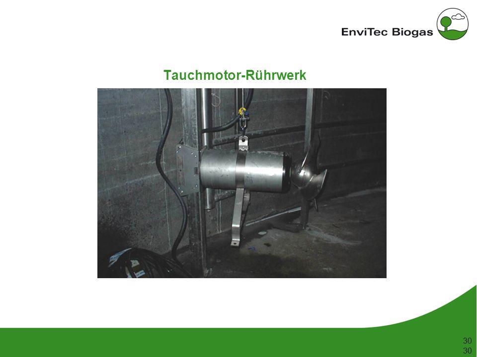 Tauchmotor-Rührwerk