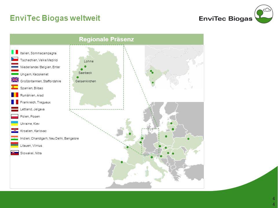 EnviTec Biogas weltweit