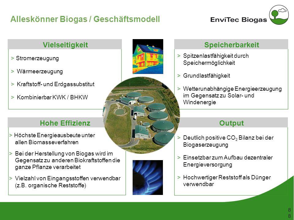 Alleskönner Biogas / Geschäftsmodell