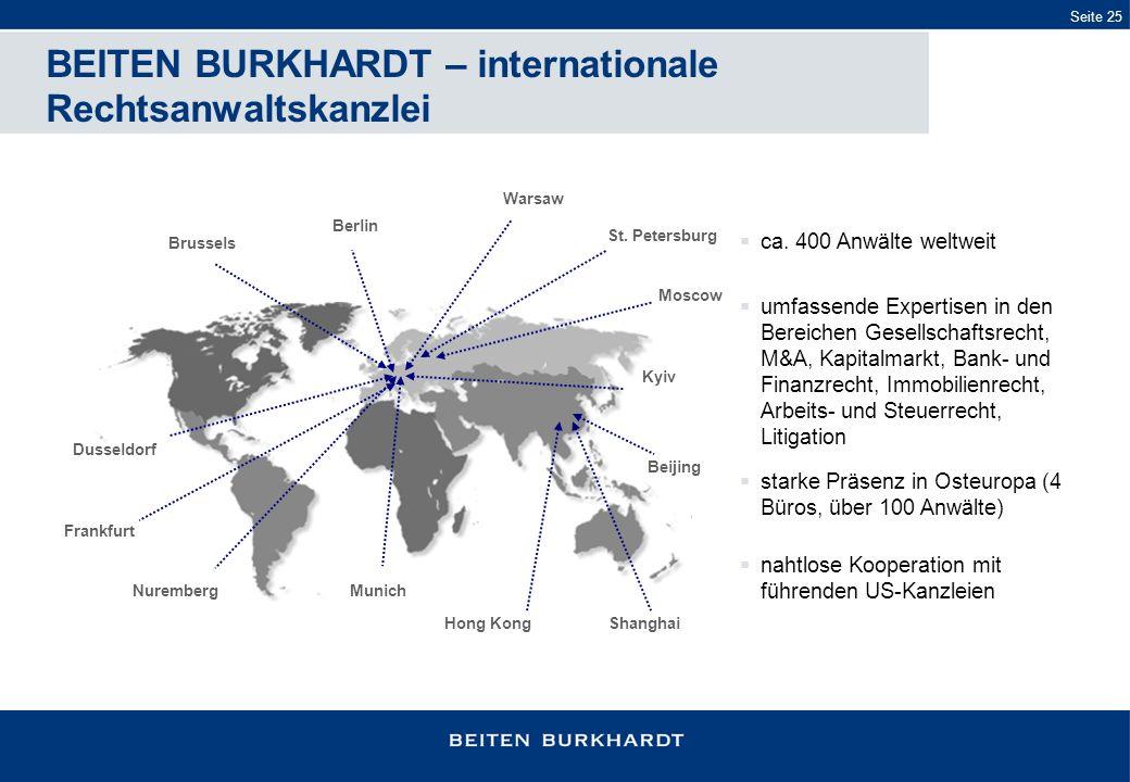 BEITEN BURKHARDT – internationale Rechtsanwaltskanzlei