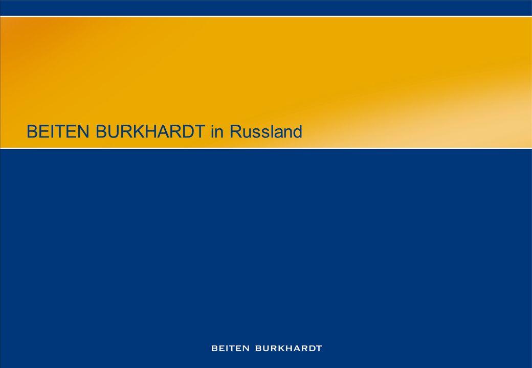 BEITEN BURKHARDT in Russland