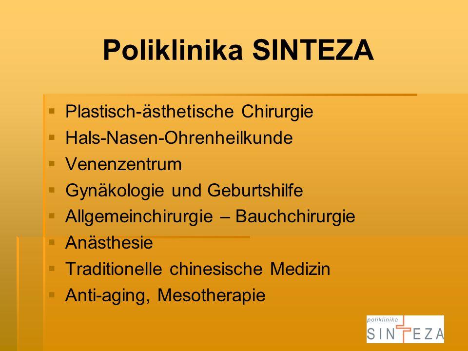 Poliklinika SINTEZA Plastisch-ästhetische Chirurgie