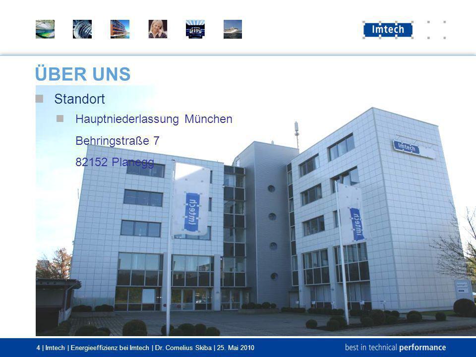 ÜBER UNS Standort Hauptniederlassung München Behringstraße 7