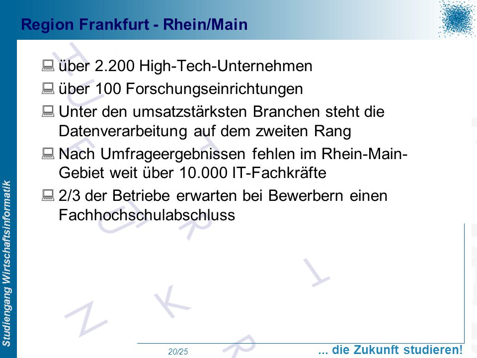 Region Frankfurt - Rhein/Main