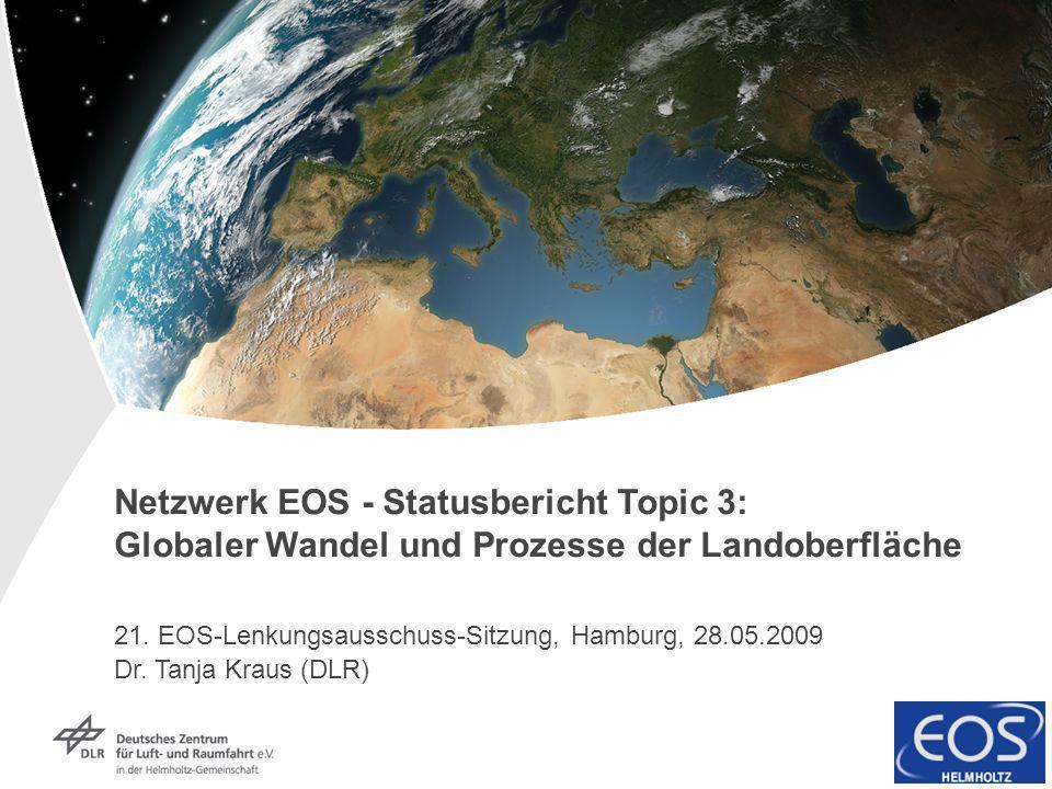 Netzwerk EOS - Statusbericht Topic 3: Globaler Wandel und Prozesse der Landoberfläche
