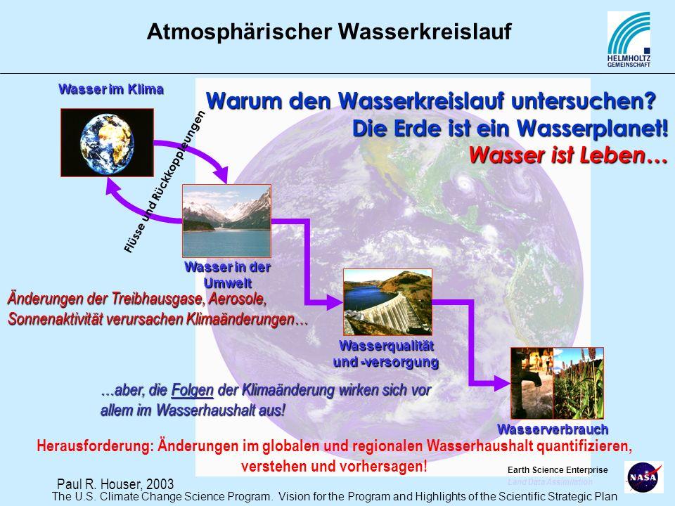 Wasserqualität und -versorgung Flüsse und Rückkoppleungen