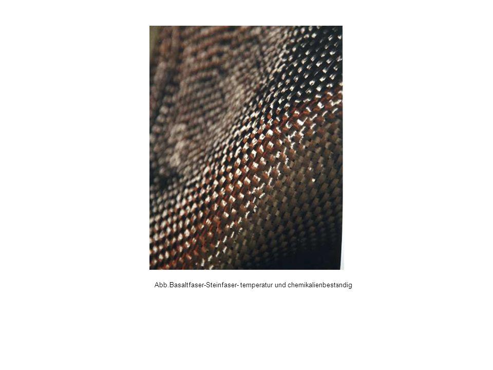 Abb.Basaltfaser-Steinfaser- temperatur und chemikalienbeständig