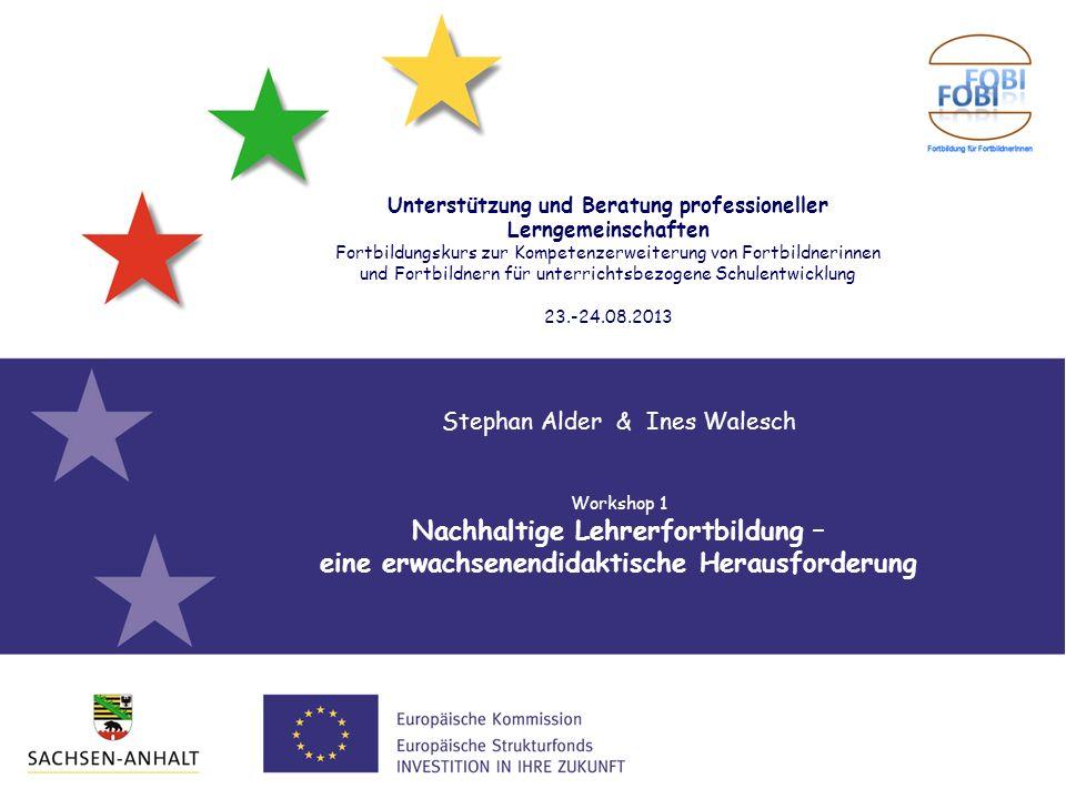 Nachhaltige Lehrerfortbildung –