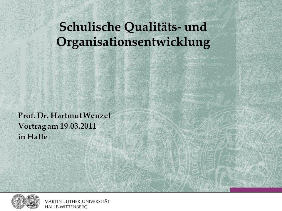 Schulische Qualitäts- und Organisationsentwicklung