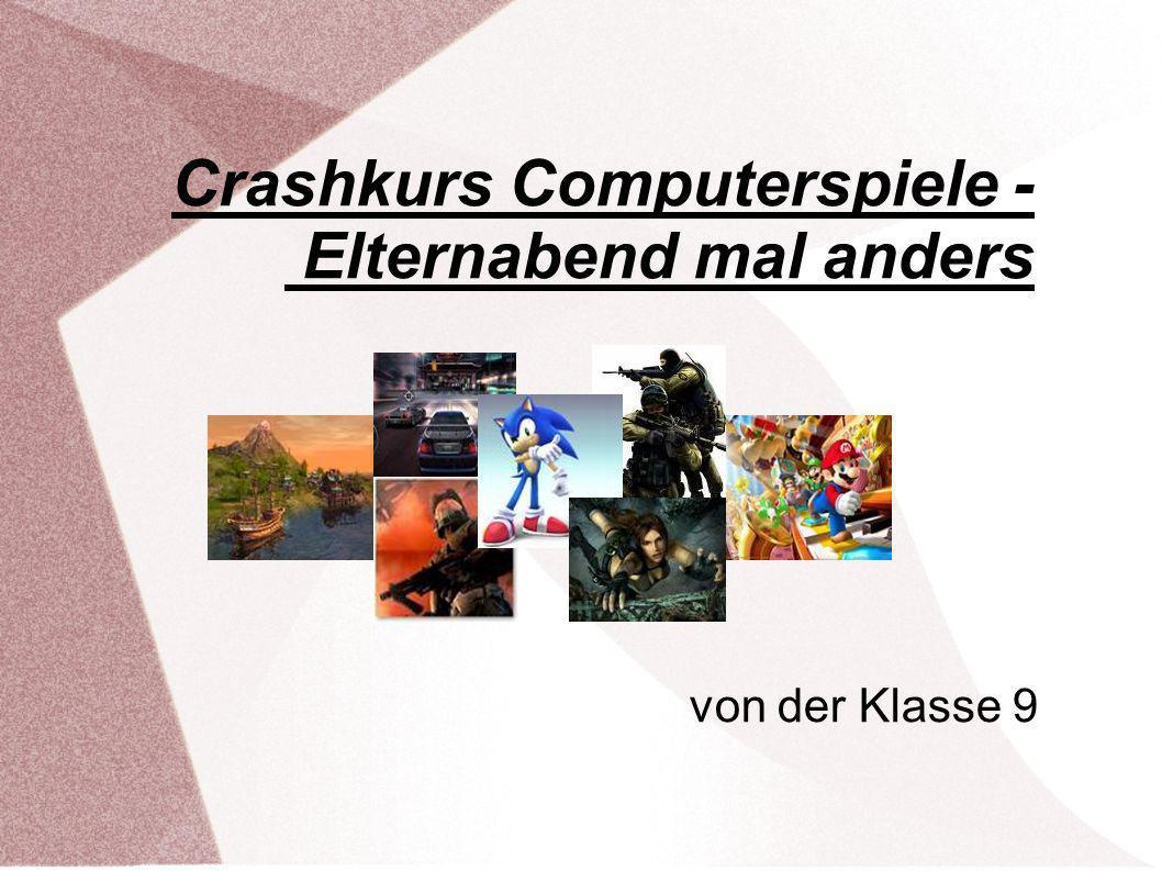 Crashkurs Computerspiele - Elternabend mal anders