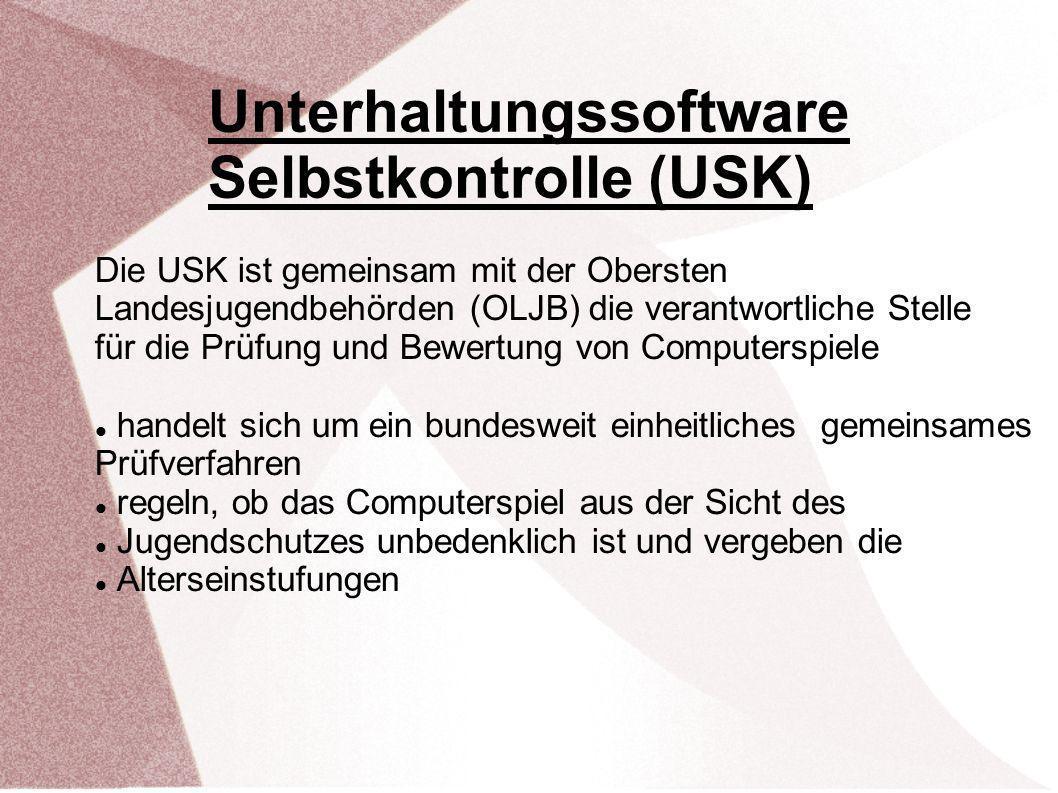 Unterhaltungssoftware Selbstkontrolle (USK)