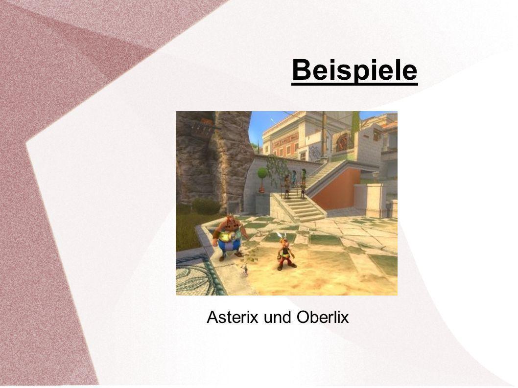 Beispiele Asterix und Oberlix Asterix bei den Final Fantasy Tactics A2