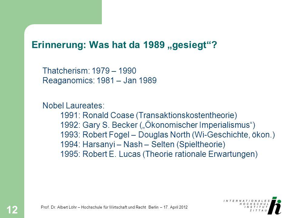 """Erinnerung: Was hat da 1989 """"gesiegt"""