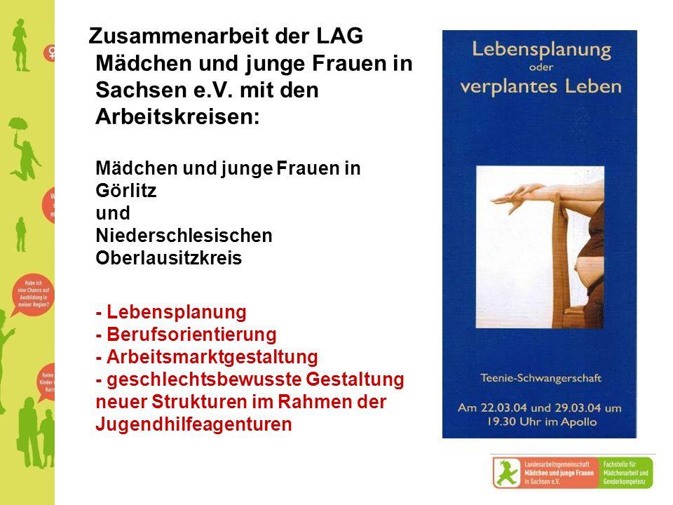 Zusammenarbeit der LAG Mädchen und junge Frauen in Sachsen e. V