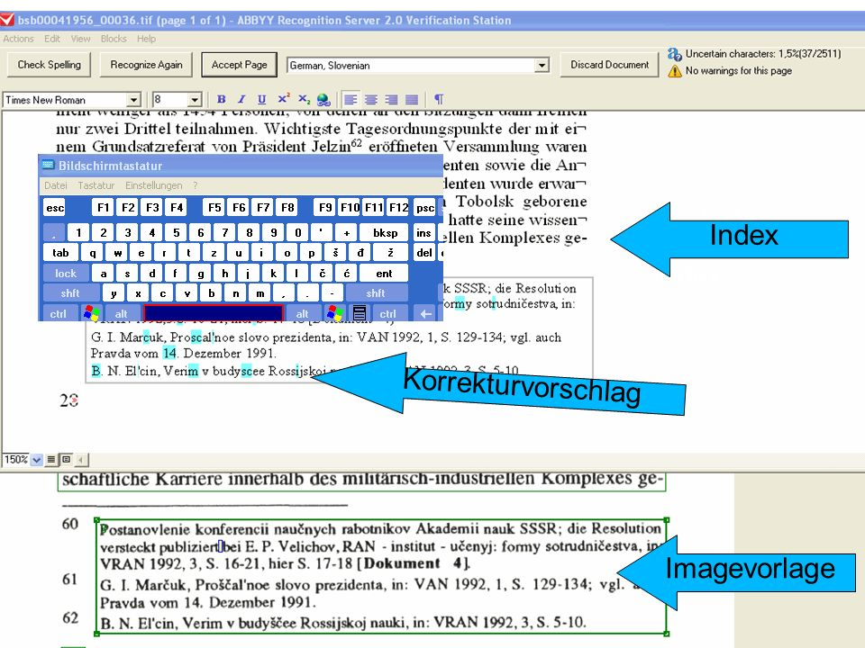 Index Index Index Korrekturvorschlag Imagevorlage