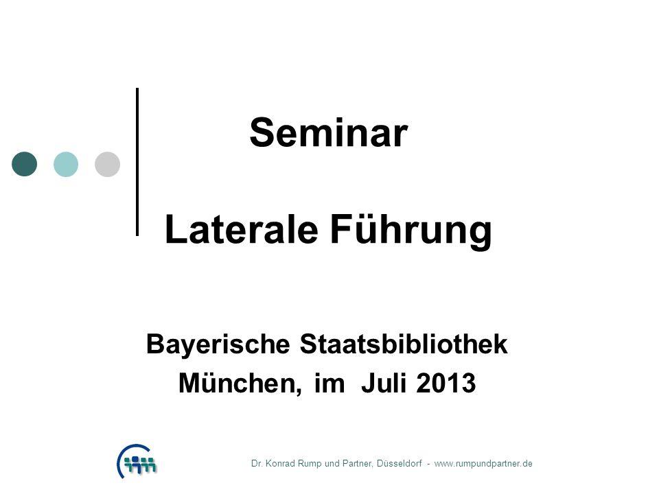 Seminar Laterale Führung