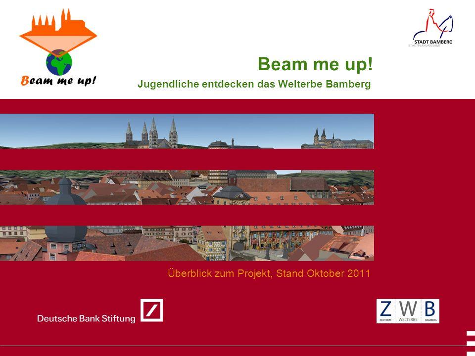 Jugendliche entdecken das Welterbe Bamberg