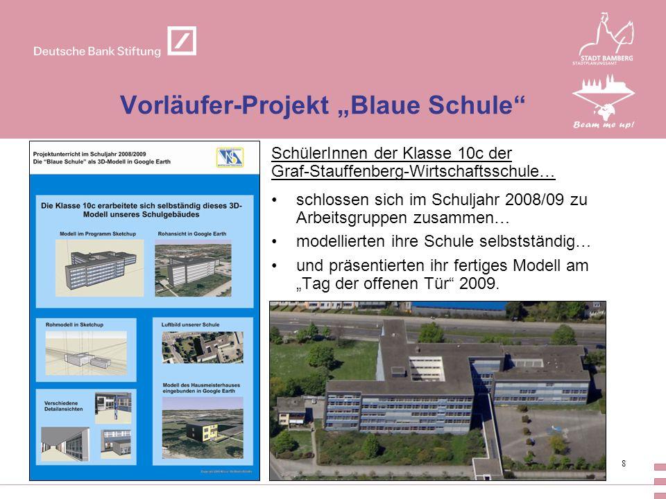 "Vorläufer-Projekt ""Blaue Schule"