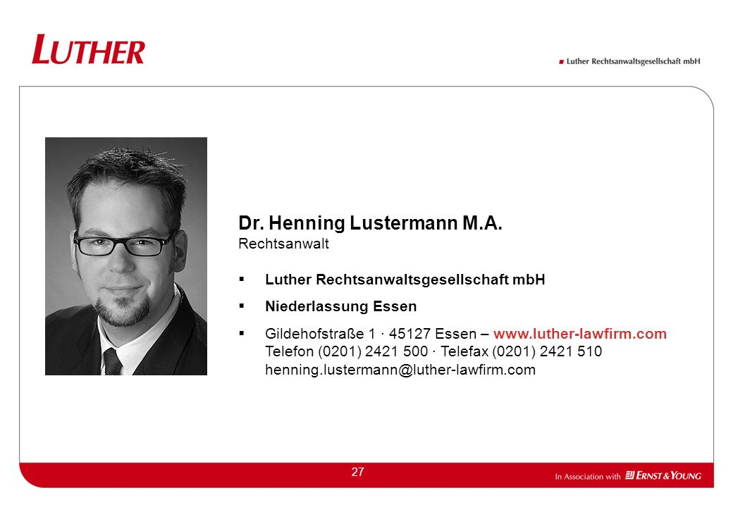 Dr. Henning Lustermann M.A.