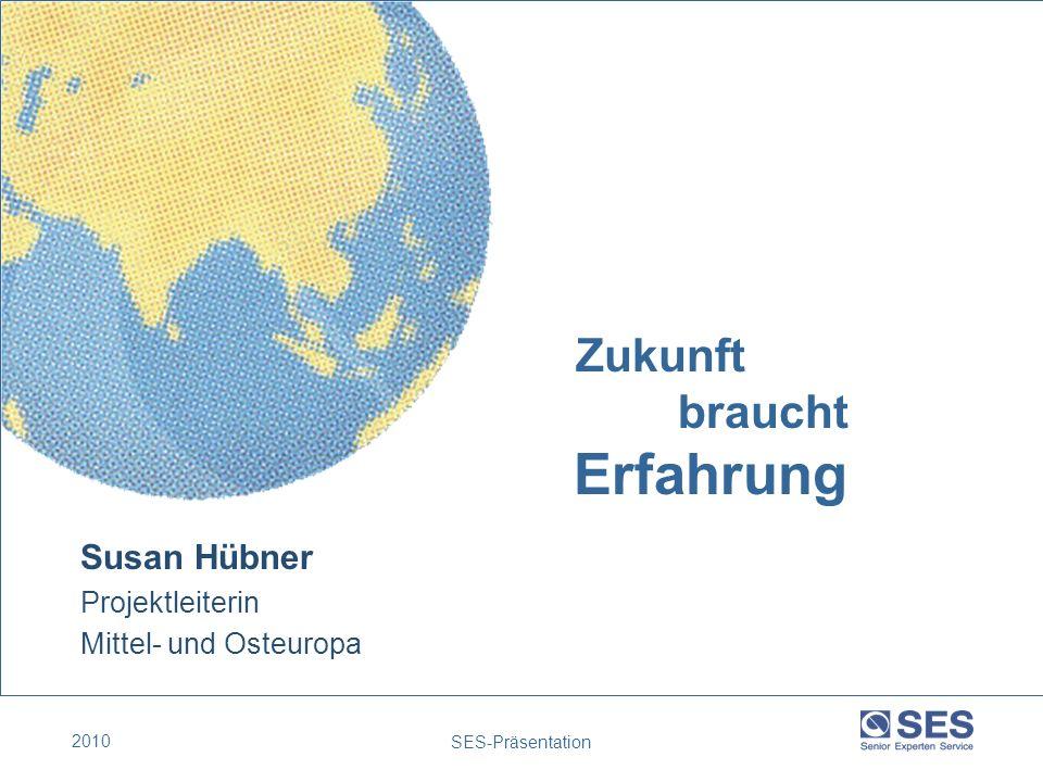 Erfahrung Zukunft braucht Susan Hübner Projektleiterin