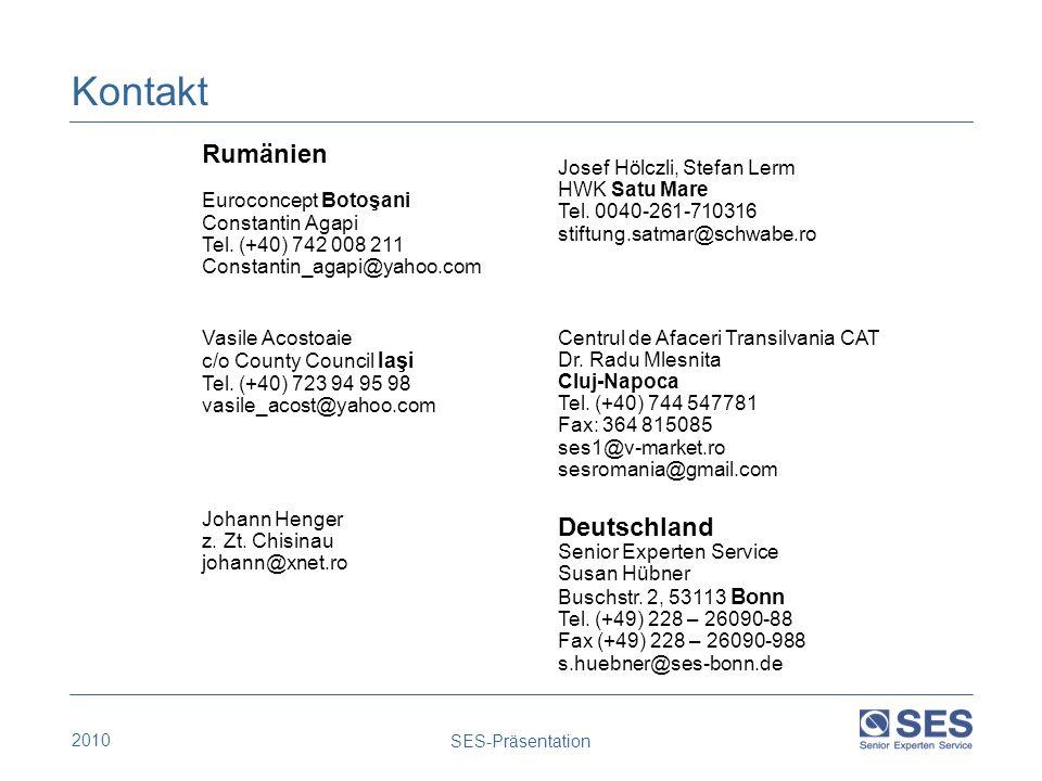 Kontakt Rumänien Deutschland Euroconcept Botoşani Constantin Agapi