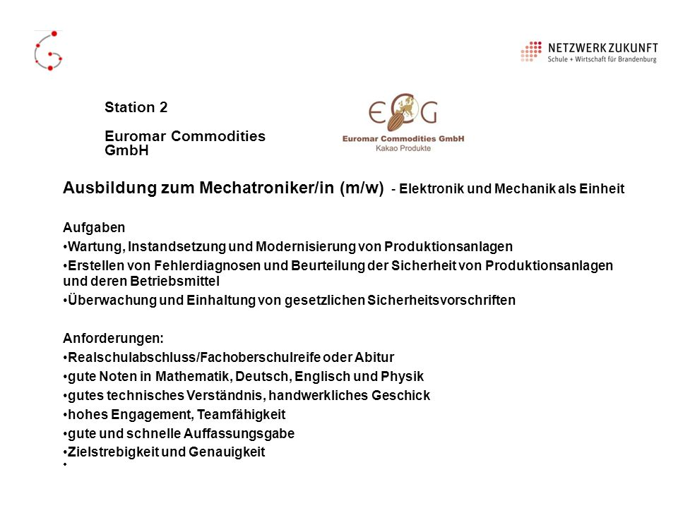 Station 2 Euromar Commodities GmbH