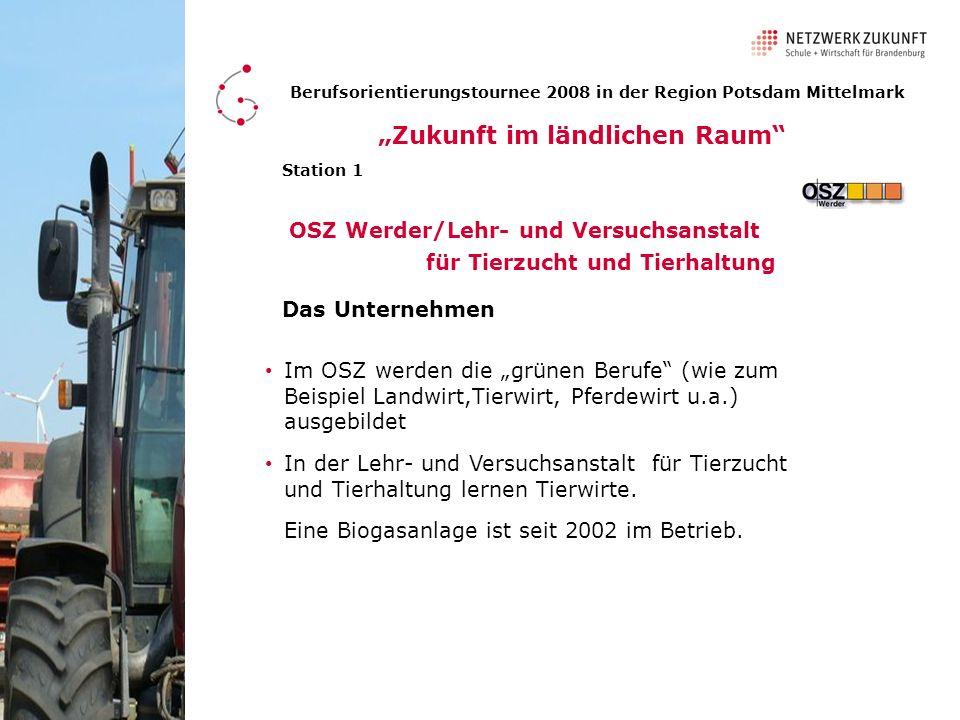 OSZ Werder/Lehr- und Versuchsanstalt für Tierzucht und Tierhaltung