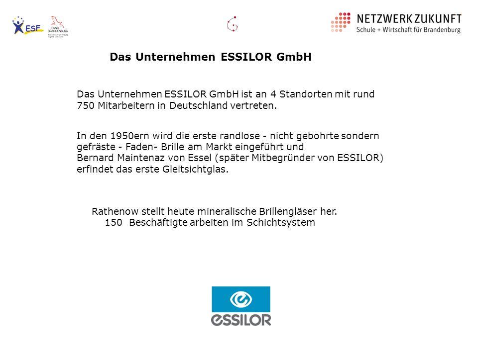Das Unternehmen ESSILOR GmbH