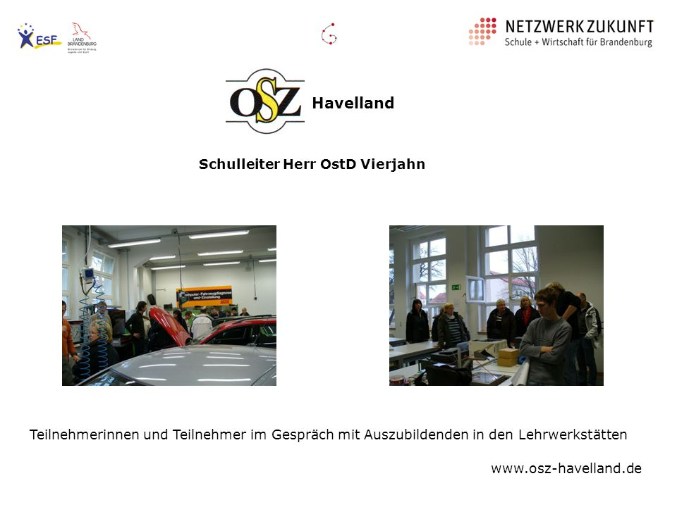 Havelland Schulleiter Herr OstD Vierjahn
